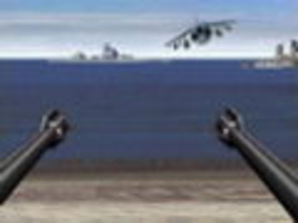Bild zu Action-Spiel Beach Defence