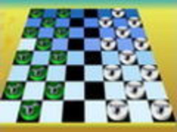 Bild zu Denken-Spiel Checkers Board