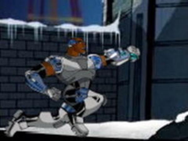 Bild zu Action-Spiel Cyborg Snowfight