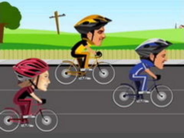 Bild zu Rennen-Spiel Cycle Racers