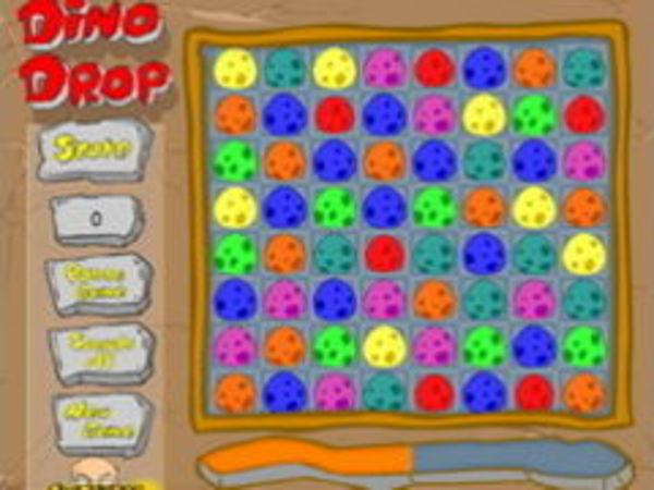 Bild zu Denken-Spiel Dino Drop