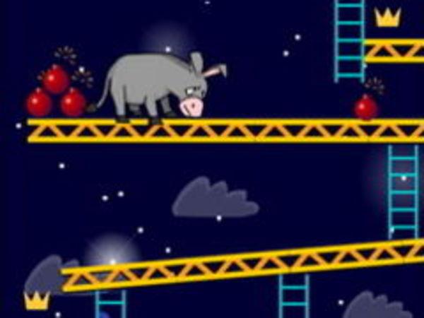 Bild zu Geschick-Spiel Donkey Bomb