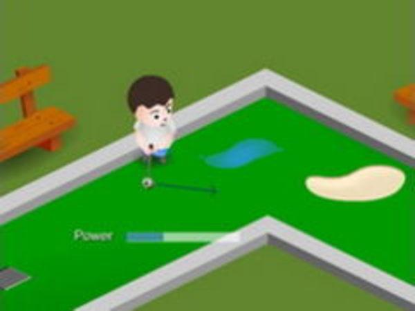 Bild zu Geschick-Spiel Electro Tank Minigolf