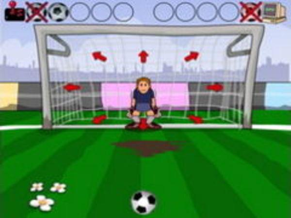 Bild zu Sport-Spiel Elfmeter Schießen 2