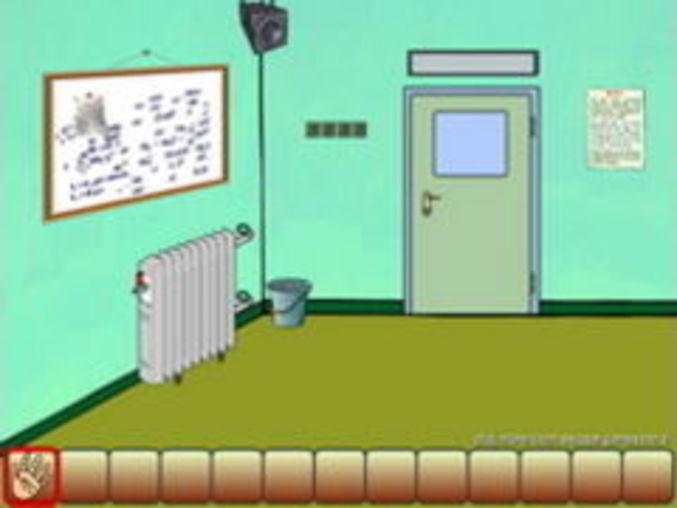 Escape Turquoise Room
