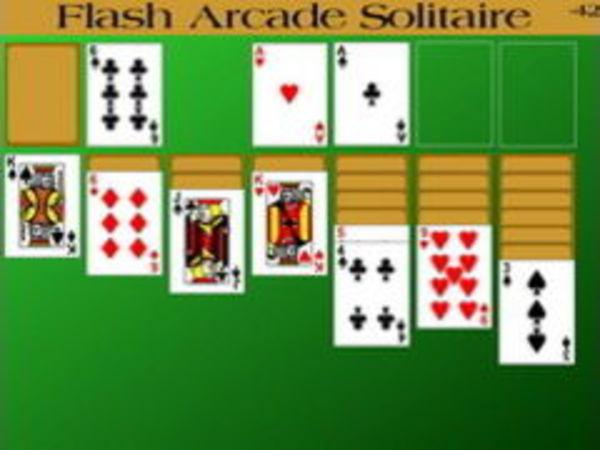 Bild zu Denken-Spiel Flash ArcadeSolitaire
