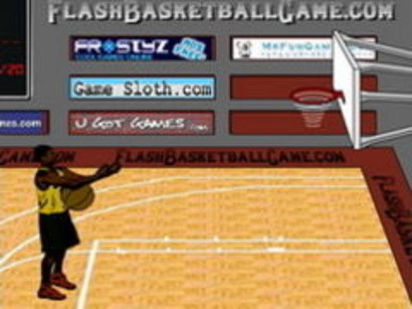 Bild zu Geschick-Spiel Flash Basketball