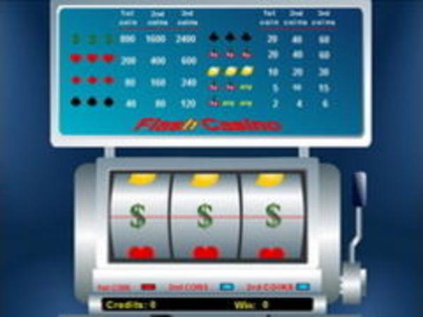 Bild zu Casino-Spiel Flash Casino Slotmachine