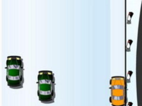 Bild zu Action-Spiel Autobahn Winter
