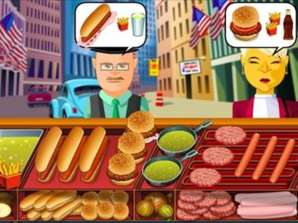 Bild zu Action-Spiel Hot Dog Bush