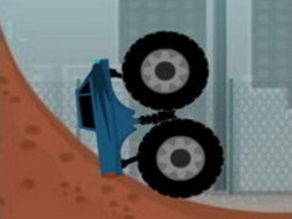 Bild zu Geschick-Spiel Monstertruck Trials