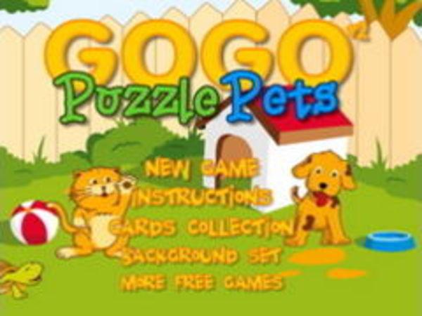 Bild zu Denken-Spiel Puzzle Pets