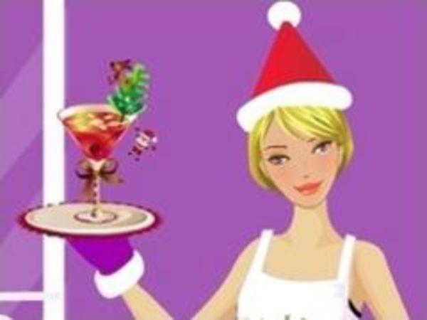 Bild zu Mädchen-Spiel Christmas Dressup 2