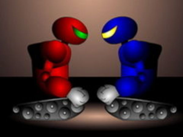 Bild zu Action-Spiel Rockem Sockem Robot