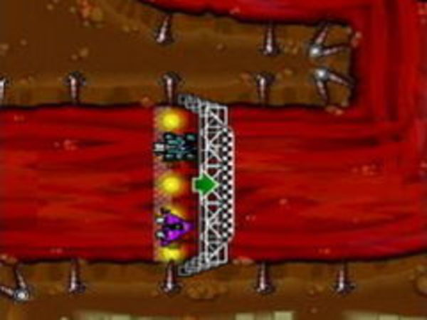 Bild zu Rennen-Spiel Rocket Rally