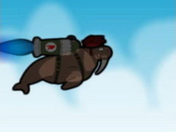 Bild zu Rennen-Spiel Rocket Walrus