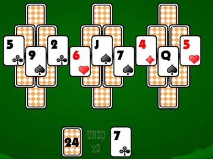 sheriff tripeaks solitaire