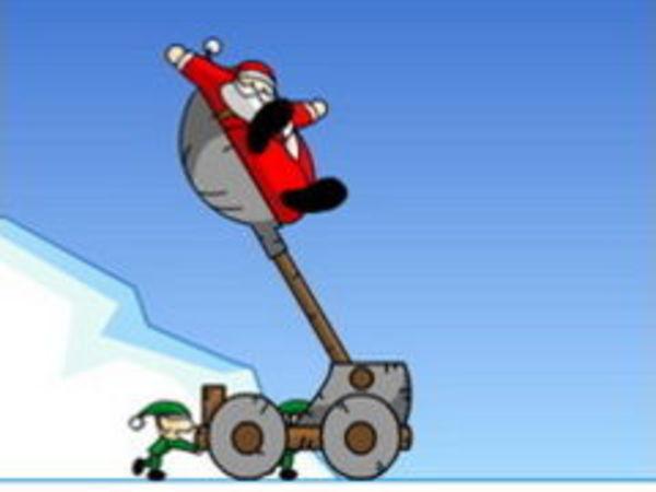 Bild zu Top-Spiel Slingshot Santa