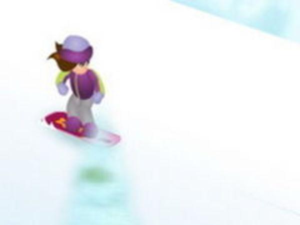 Bild zu Sport-Spiel Snowboard Betty