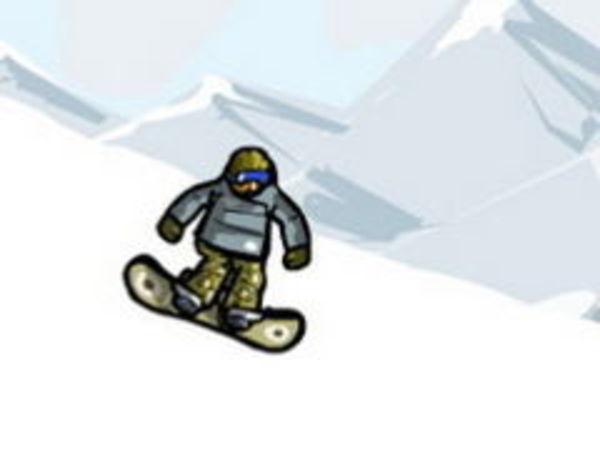 Bild zu Sport-Spiel Snowboard Stunts