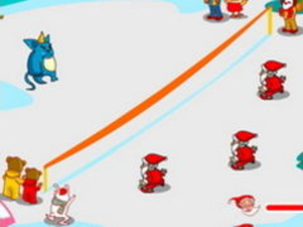 Bild zu Action-Spiel Snow Throw