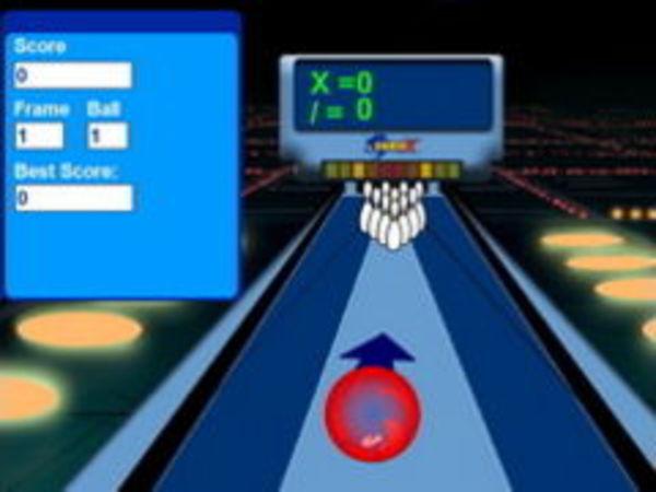 Bild zu Sport-Spiel Sonic Bowling