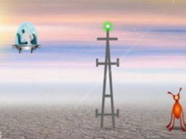 Bild zu Geschick-Spiel Spaceman 2