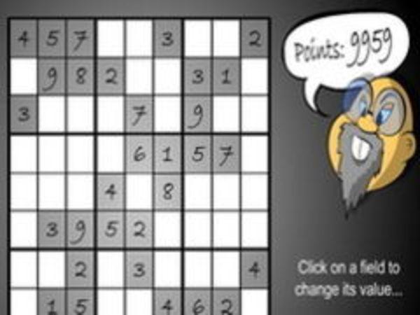 Bild zu Denken-Spiel Sudoku Countdown
