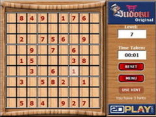 Bild zu Denken-Spiel Sudoku Original