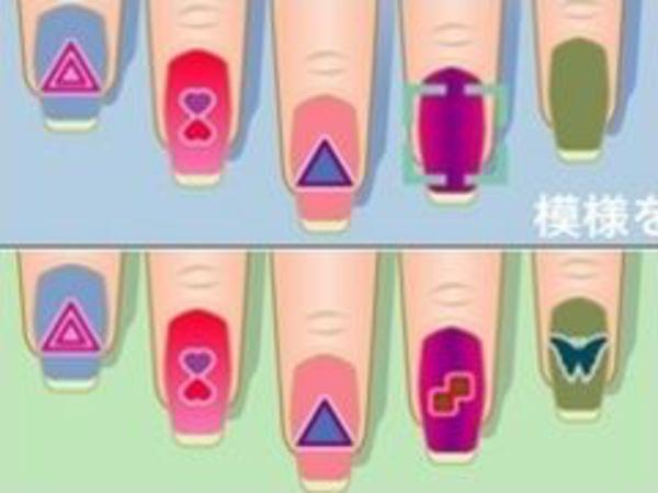 Bild zu Mädchen-Spiel Colourful Nails