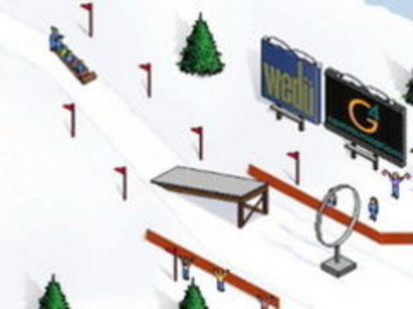 Bild zu Top-Spiel Schlitten-Springen