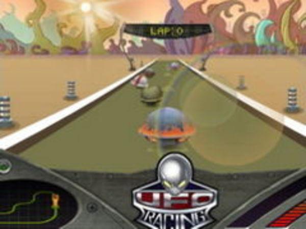 Bild zu Rennen-Spiel Ufo Racing