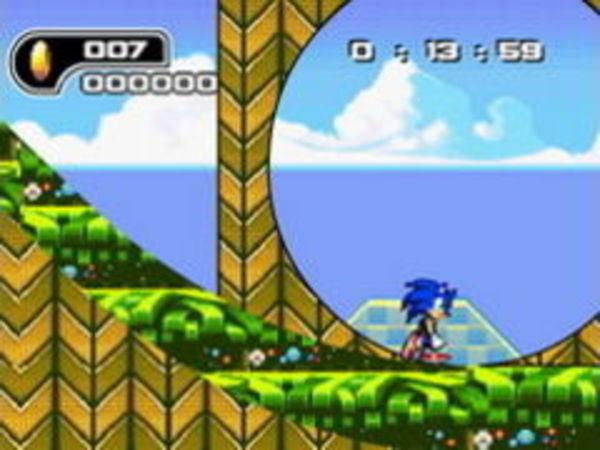 Bild zu Klassiker-Spiel Ultimate Flash Sonic