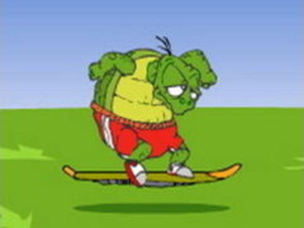 Bild zu Rennen-Spiel Hase und Schildkröte