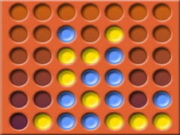 Bild zu Denken-Spiel Verbinde 4