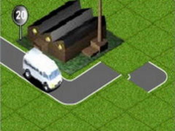 Bild zu Geschick-Spiel Straßen Baumeister