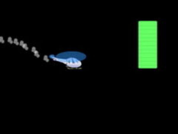 Bild zu Geschick-Spiel Heli Tunnel