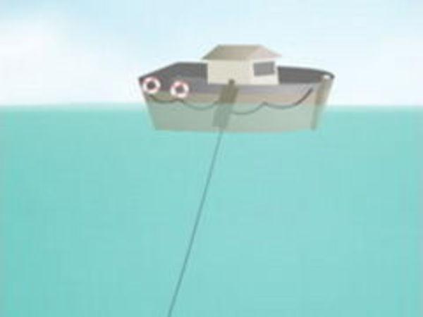Bild zu Geschick-Spiel Sam der Angler