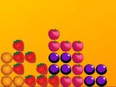 Fallende Früchte spielen