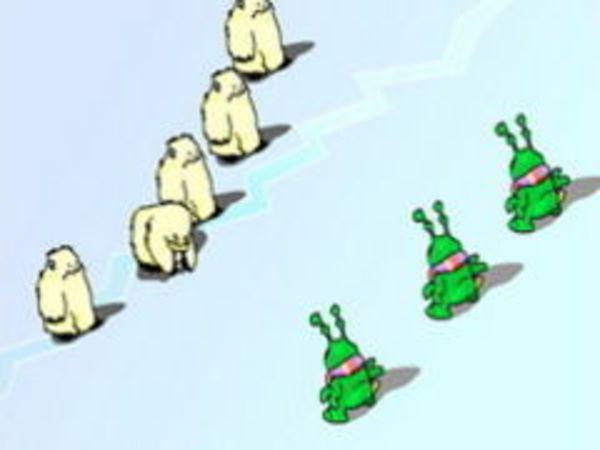 Bild zu Action-Spiel Schneeballschlacht 2