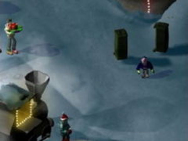 Bild zu Rennen-Spiel Weihnachtsschlacht