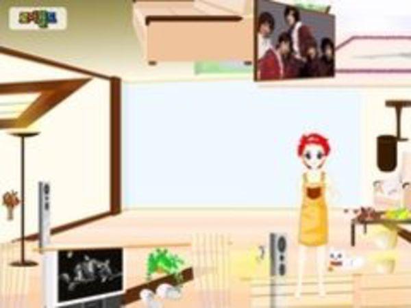 Bild zu Mädchen-Spiel Modern House Make Over