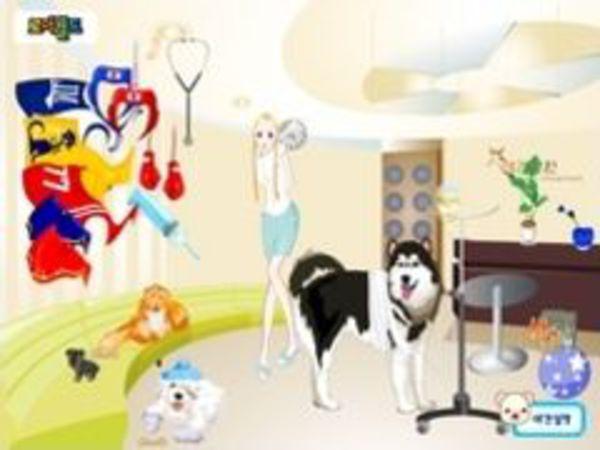 Bild zu Mädchen-Spiel Dogs Hospital