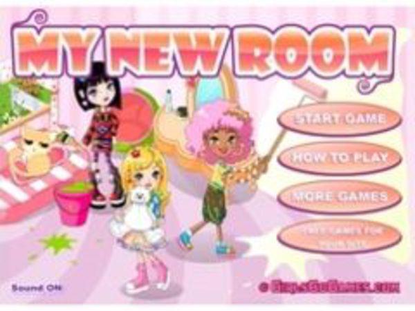 Bild zu Mädchen-Spiel Mein neues Zimmer