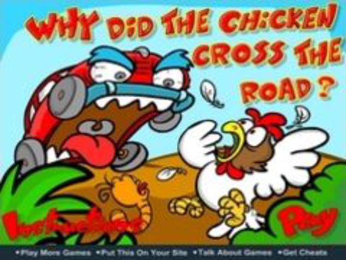 Chicken is running