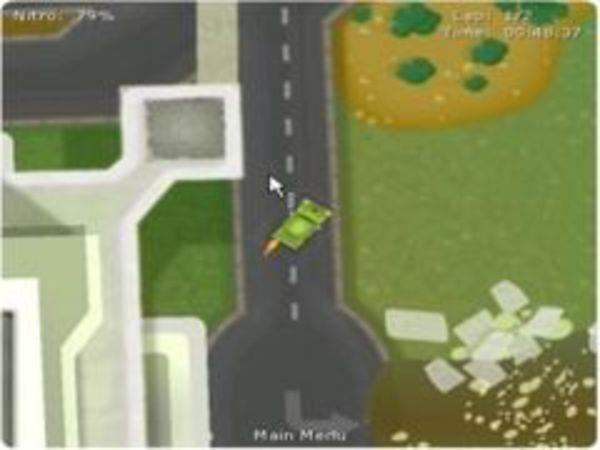 Bild zu Action-Spiel Trabi