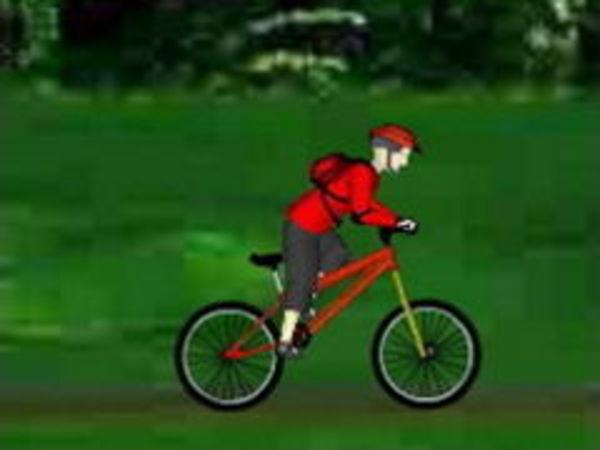 Bild zu Rennen-Spiel Mountainbike