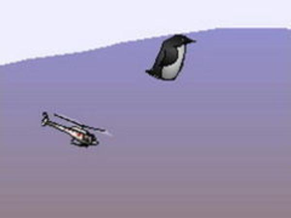 Bild zu Geschick-Spiel Penguin Copter
