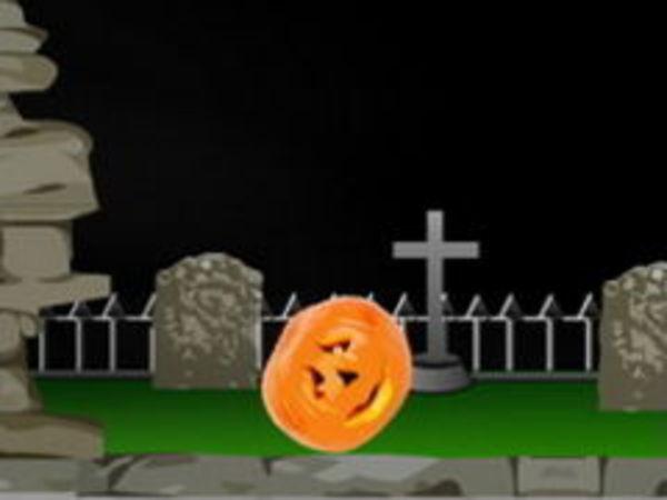 Bild zu Geschick-Spiel Slashing Pumpkins