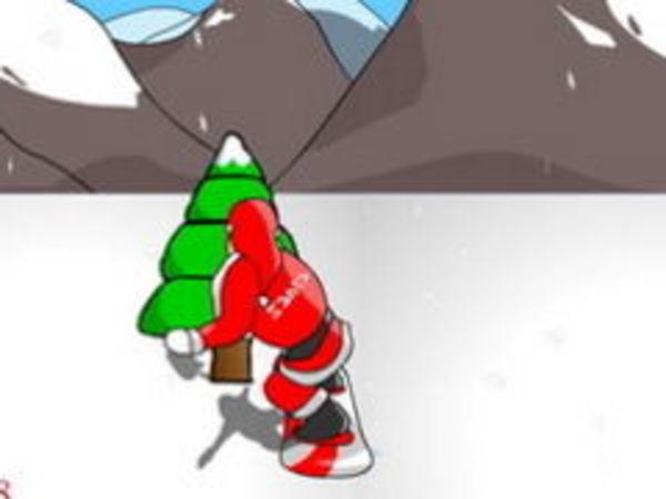 Bild zu Geschick-Spiel Snowboard Santa